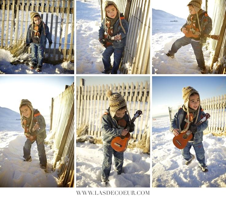 Portraits d'enfant dans la neige | Wedding & Portrait Photographer Lyon France | Burgundy, Morocco, Noumea | Tel: +33 (0)9 51 82 92 05