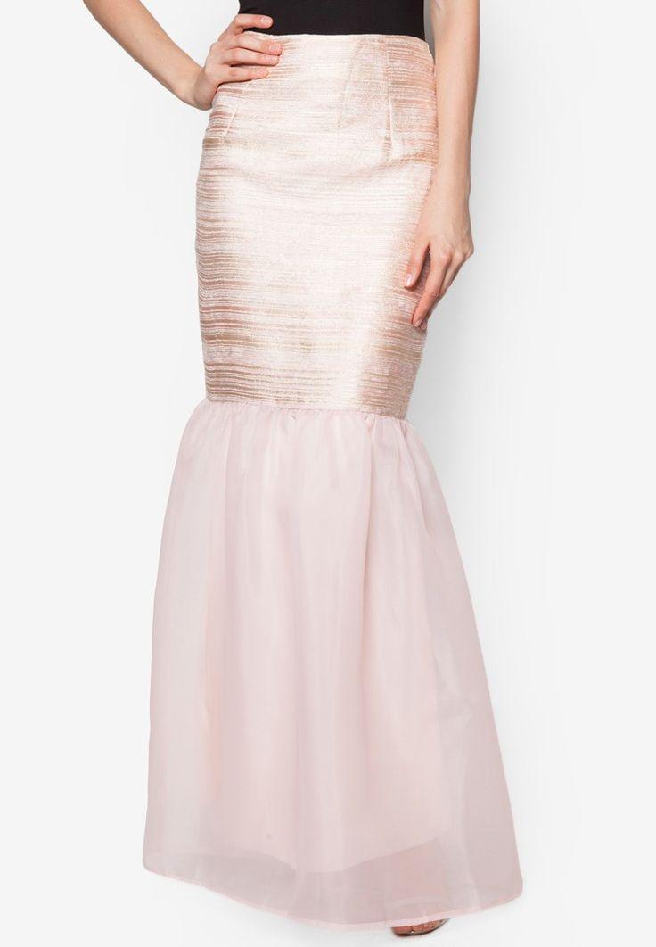 Brocade Organza Skirt_1