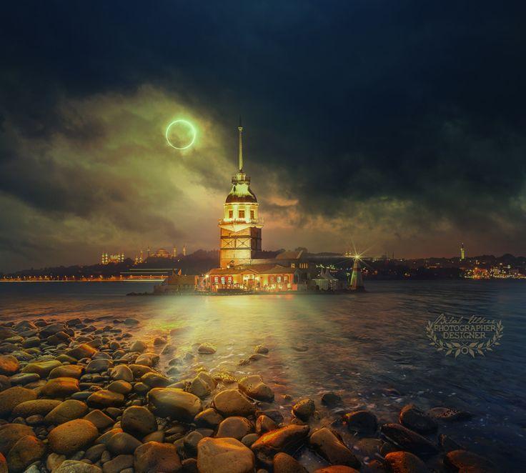 kız kulesi by Bilal Ülker on 500px