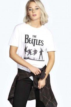 Camiseta Extragrande Beatles - Tops - Ropa