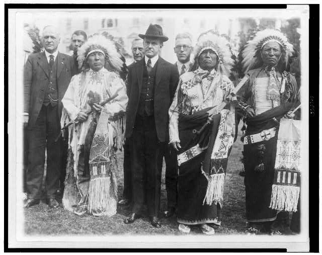 jun 2, 1924: The Indian Citizenship Act  With Congress' passage of the Indian Citizenship Act, the government of the United States confers citizenship on all Native Americans born within the territorial limits of the country.