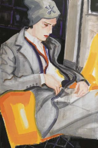 I have never seen an Elizabeth Peyton that I did not love..this one is spectacular! Featured on Habitually Chic blog