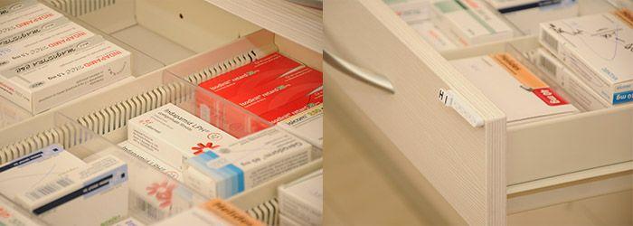 Sertare specializate pentru farmacii - Accesoria Pharma. http://www.sertarefarmacii.ro/page/35-continuam-proiectele-de-amenajare-a-farmaciilor-myosotis