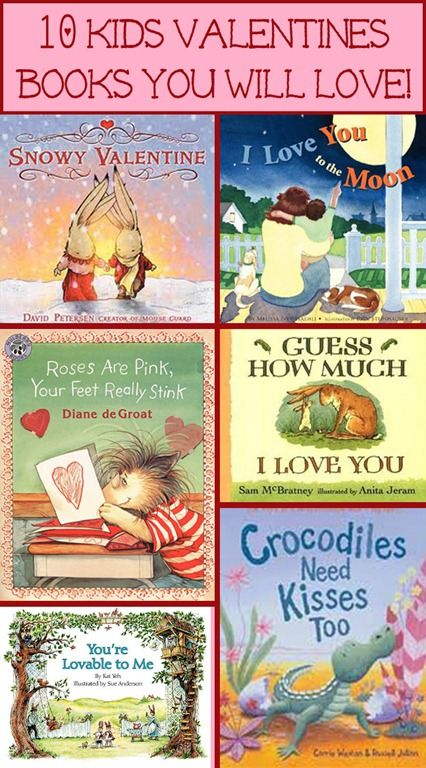 10 Kids Valentines Books You Will Love! //for grandkids