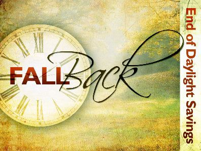 Time Change - Fall Back