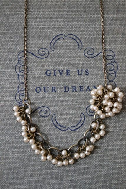 A beautiful vintage inspired MNA Designs Necklace $35