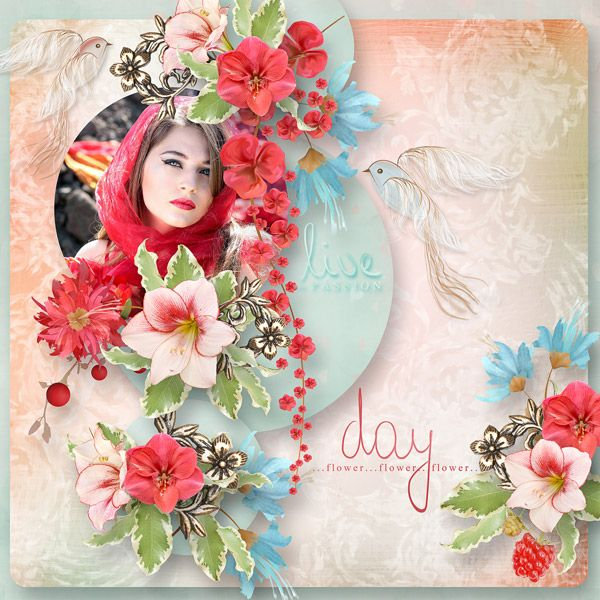 """""""Gate To Silent Garden"""" by MiSi Scrap http://www.digiscrapbooking.ch/shop/index.php?main_page=product_info&cPath=22_225&products_id=19591 photo Adina Voicu"""