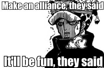 Trafalgar Law #one piece meme #funny poor guy dealing with luffy must be hard