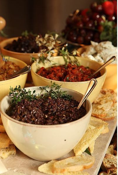 A Bruschetta Bar is an elegant and economical way to entertain nad this Fig Onion Marmalade is a great item to include on the bar,