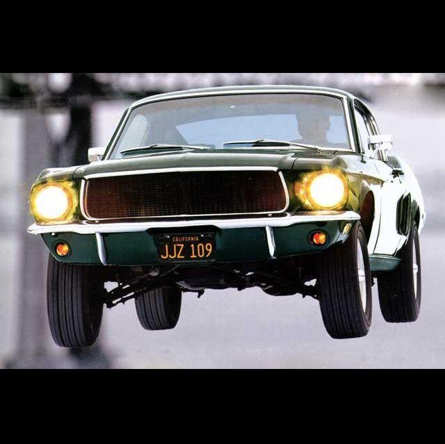 Bullitt Car Chase Scene - (SILODROME)