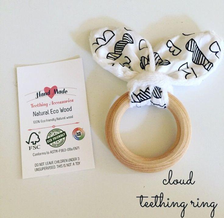Clouds Teething Ring