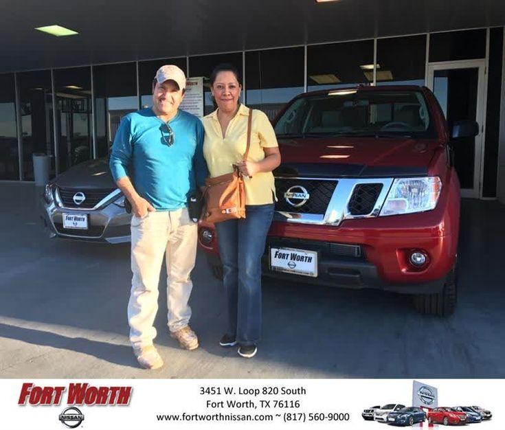 Fort Worth Nissan Customer Review  Con la idea de comprar un auto usado. Termine comprando una Frontier 2017. Fuimos atendidos muy cordialmente por el Sr. Jesus De Los Rios, Nos explico todas las opciones y decidimos por el nuevo. Muy contento con la compra y mi esposa tambien. Con gusto recomiendo a Jesus para que compren un auto con el.  jOSE, https://deliverymaxx.com/DealerReviews.aspx?DealerCode=WWBX&ReviewId=57501  #Review #DeliveryMAXX #FortWorthNissan