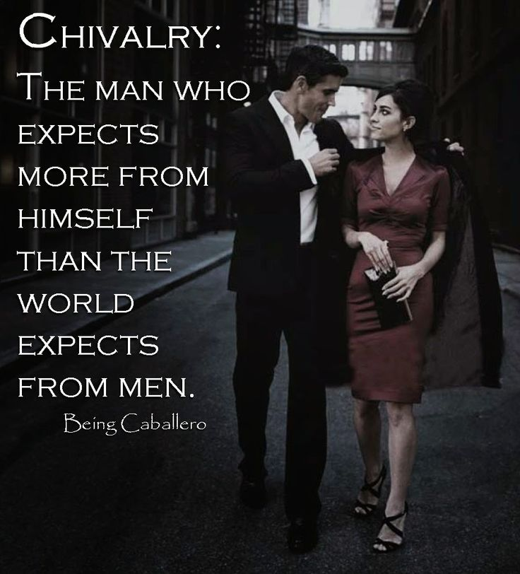 Being Caballero: Chivalry - Being Caballero defines the contemporary gentleman as one who achieves a balance between old-school values with the ability to adapt in an ever changing society. (It's not about the Guy you used to be, but the Gentleman you've become.)