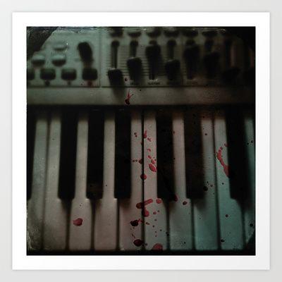 Music.Death.Analog Art Print by WASA3I - $13.52