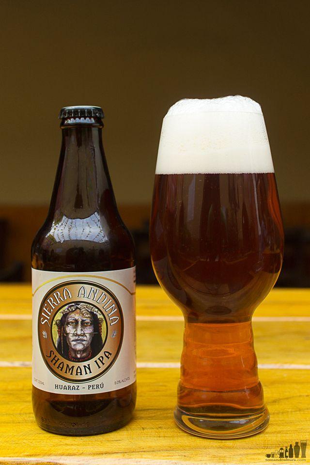 Copa Cervezas de América: Shaman IPA.- Alcohol por Volumen: 8 % | Color: 10 SRM aprox. | Amargor: 60 IBU aprox.