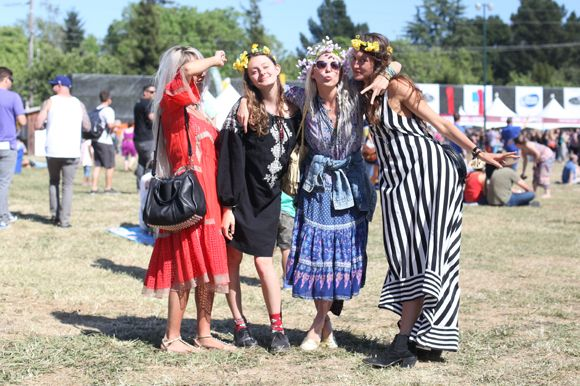 What to wear to a music festival (Festival Fashion At BottleRock Napa)