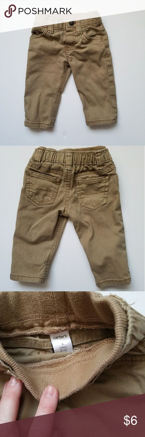 Tan Jeans EUC baby jeans with soft stretchy waist. Carter's Bottoms Jeans
