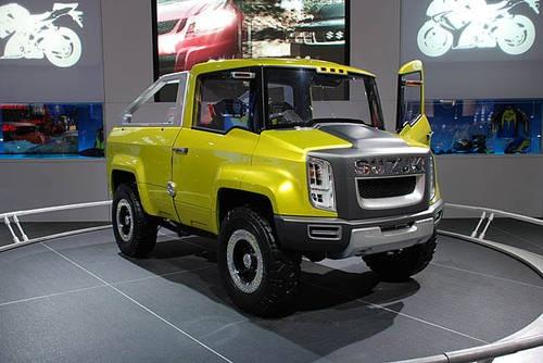 Suzuki X-HEAD Concept Truck - Front & Side