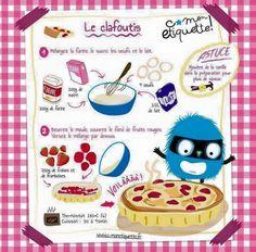 30 fiches recettes illustrées pour les enfants - les recettes de Babeth