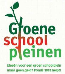 Afbeelding bij Fonds 1818 stelt 5 ton beschikbaar voor Groene Schoolpleinen