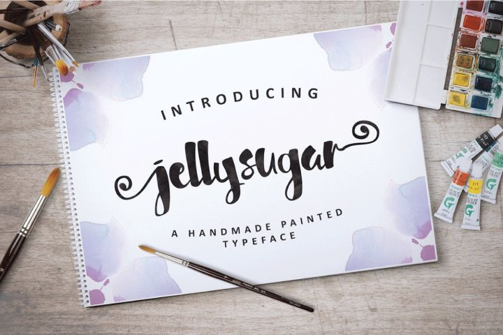 Jellysugar Typeface Just $5.00 for a limited time. #ad.