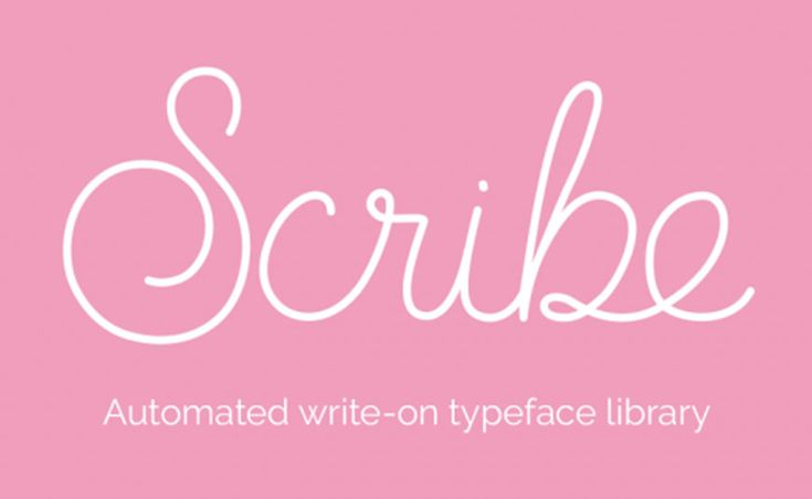 Scribe is an after effects preset that allows you to create write effects easily, choosing between 6 different handwriting styles.