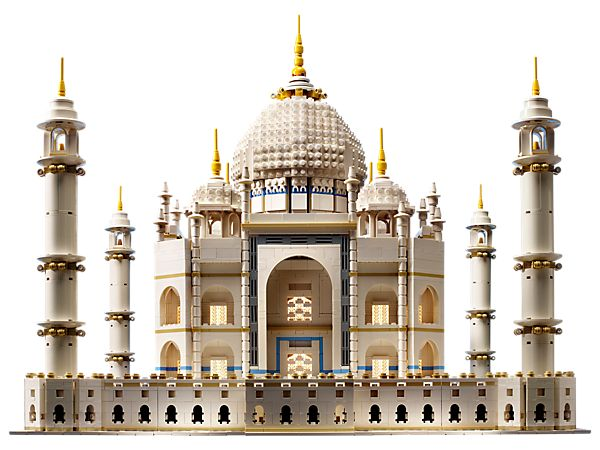 Build the breathtaking Taj Mahal!