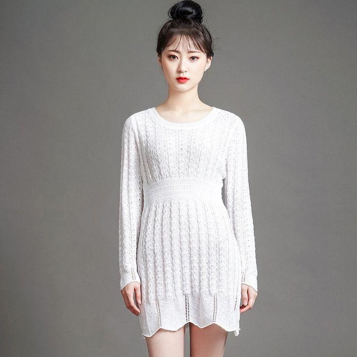[MDおすすめ]ラウンドネックニットワンピース ルーズなこなれ感を演出する程よいフィット感のニットワンピース。 ウエストがマークされたデザインでメリハリあるシルエットに♪ ざっくり開いたネックデザインが美しいデコルテを演出してくれます。 やや透け感がある薄手のニット素材で暑い季節にも使いやすいです☆ #maysome #uniquestyle #ootd #fashion #ファッション #韓国ファッション #フェミニンコーデ #大人可愛い #モデル #韓国通販 #今日のコーデ #koreafashion #シンプルコーデ #カジュアルコーデ #オルチャンファッション #dailyfashion #dailylook