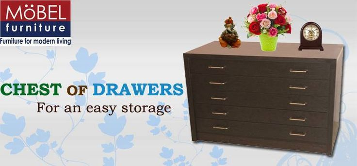 This chest of drawer is stylish and elegant as it is functional. With a classic look, it will add a charm to your home interiors.This chest of drawer can fit in perfectly with any kind of interior decor.