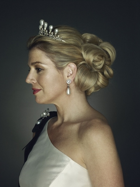 Sessão fotográfica para comemorar o 40º aniversário de Máxima - A realeza