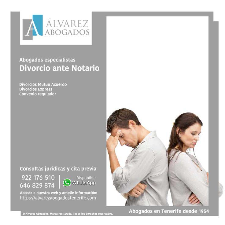 Divorcio ante Notario, ¿Es posible el divorcio ante Notario o divorcio notarial? ¿En qué casos puede un notario divorciar y a través de qué procedimiento?. https://alvarezabogadostenerife.com/?p=13136 #Divorcios #DerechoFamilia #Abogados #Tenerife