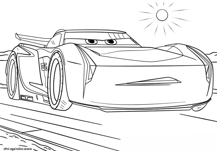 jackson storm 20 pages coloring sketch coloring page