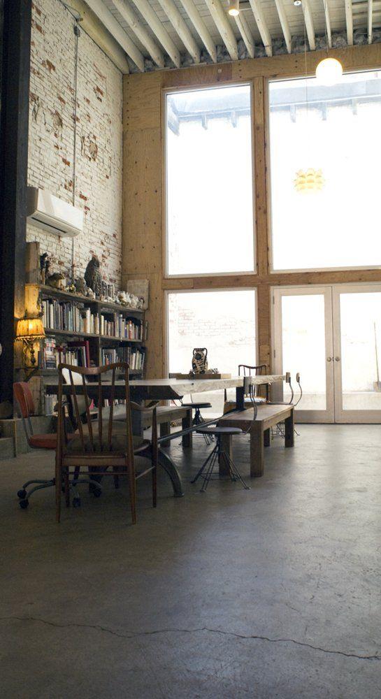 281 best images about industrial loft chic 1 on for Vintage loft millhouse
