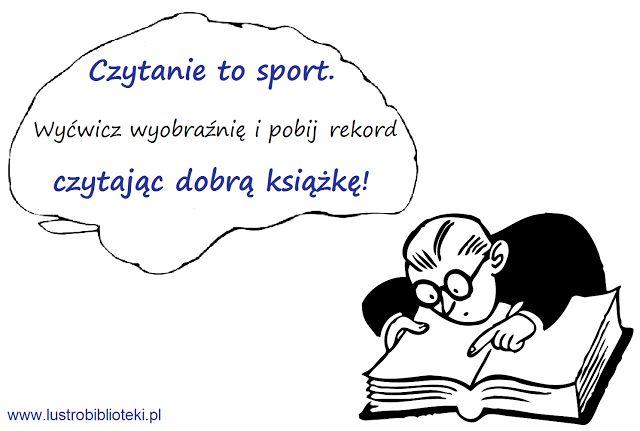 Czytanie to sport