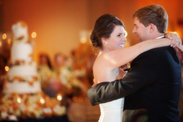 Tony and Jessica share a giggle during their first dance. Image: Amy Shepherd. Read more at www.StyleBlueprint.com