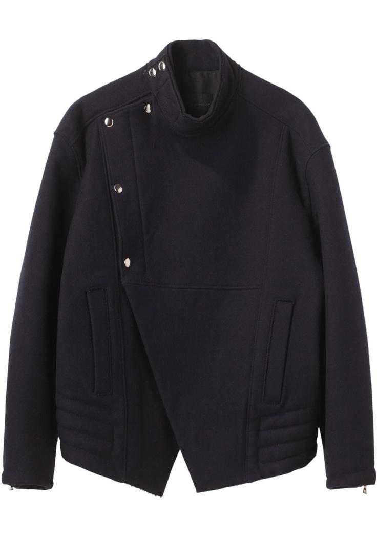 proenza schouler stand collar jacket