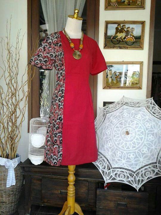 dress kombinasi
