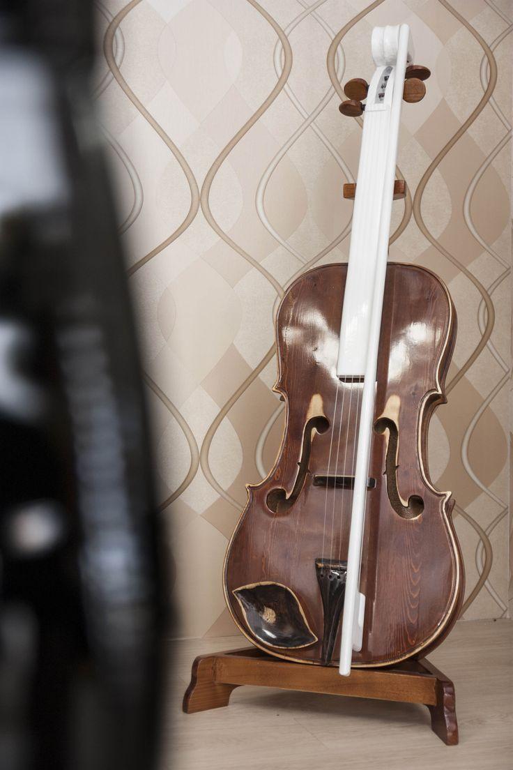 Decorative Violin #RealClassic #GreenApple #GAhomestyle #homestyle #Decoration #SolidWood #Violin