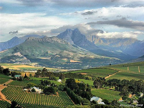Stellenbosch Winelands HDR | Stellenbosch near Cape Town in … | Flickr