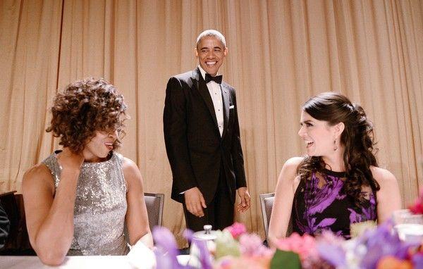 First Lady Michelle Obama Photos - President Barack Obama Addresses White House Correspondents Dinner - Zimbio