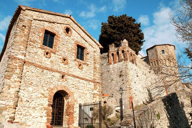 Castello di Montebello, Rimini, Italy