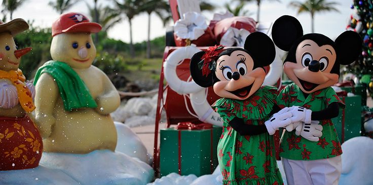Disney Christmas cruise... so doing this one year.