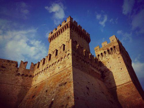 Italy - Offagna's castle