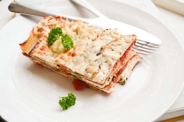 Gezonde Lasagne met Gegrilde Groenten