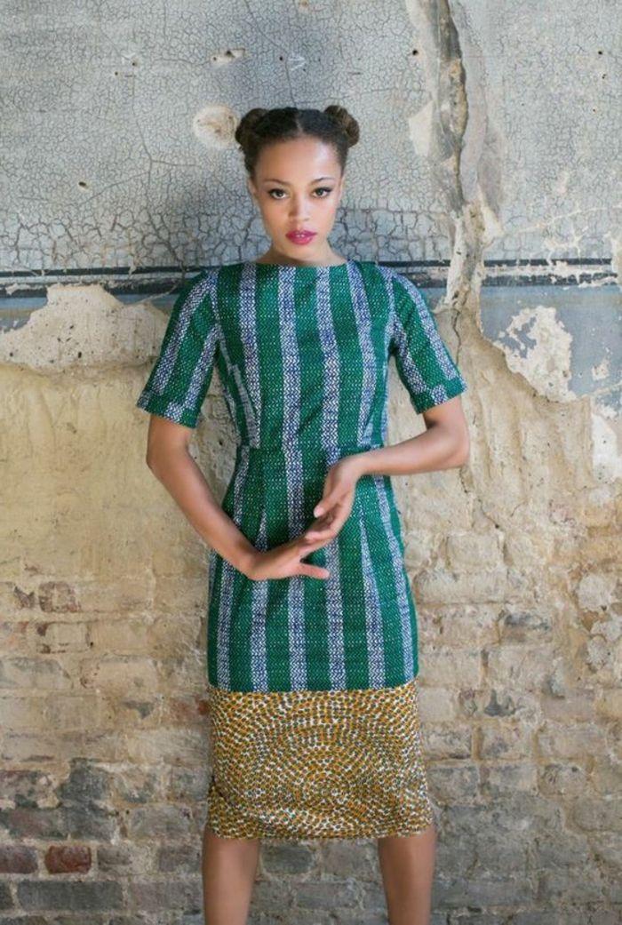 Modele de robe en pagne uniwax modele de robe en pagne for Robe de reve