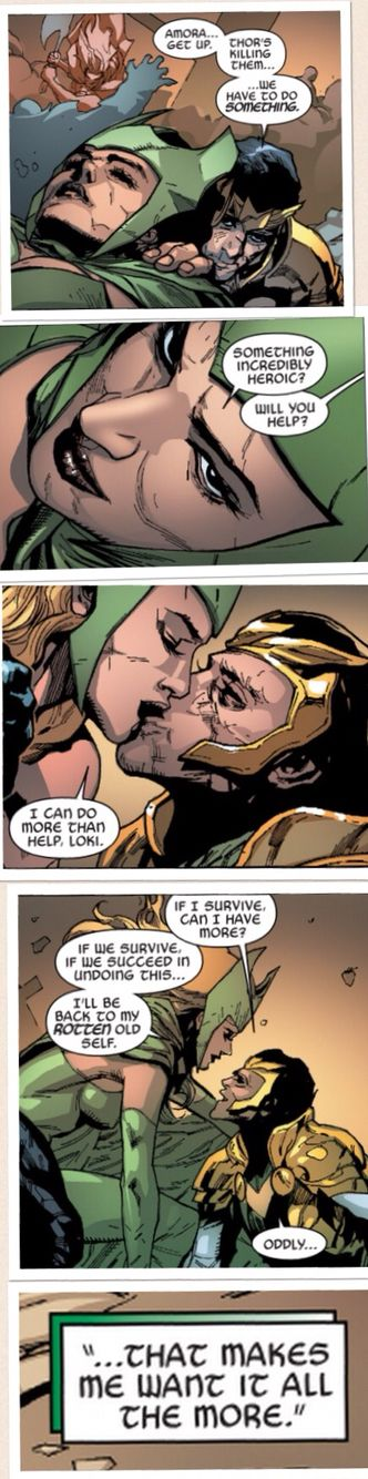 Amora Enchantress and Loki