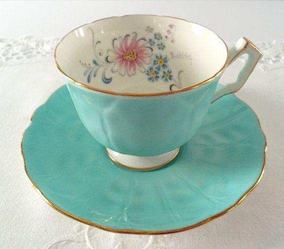 Aynsley China Tea Cup & Saucer Teacup Duo