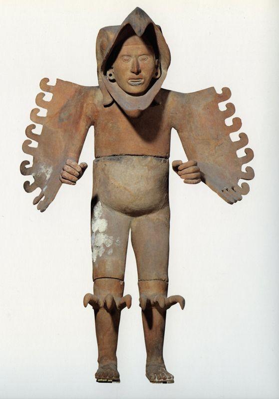 Aztec warrior statue  Etsy