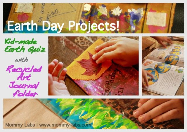 Earth Day Projects and Worldwide Blog Hop packed with ideas to celebrate Earth Day (April 22) www.mommy-labs.com