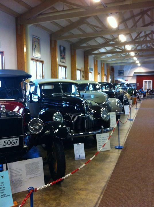 Vehoniemen automuseo in Kangasala